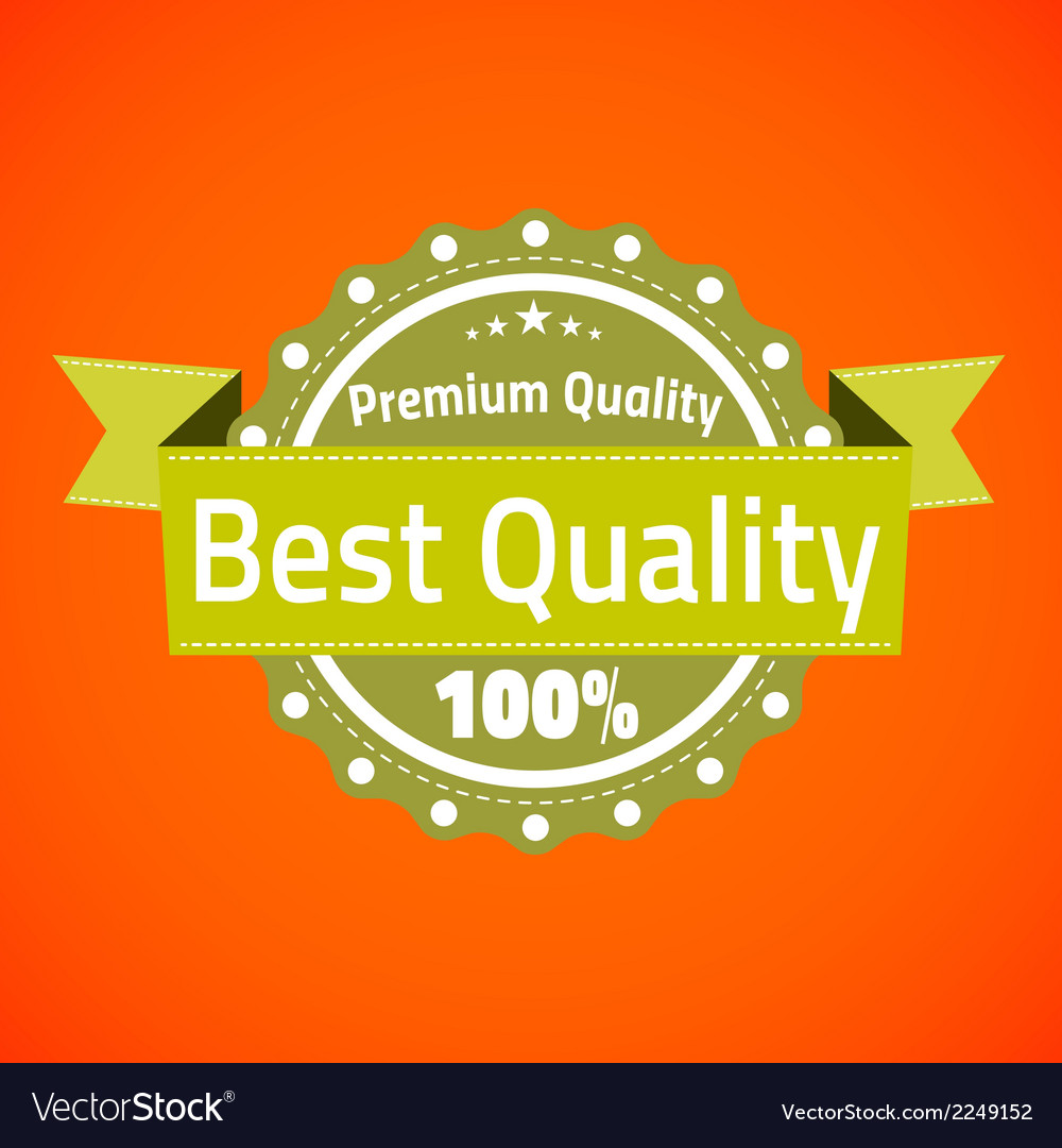 Best premium quality badge vector | Price: 1 Credit (USD $1)