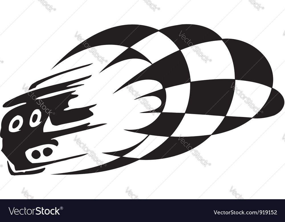 Checkered flag - symbol racing vector   Price: 1 Credit (USD $1)