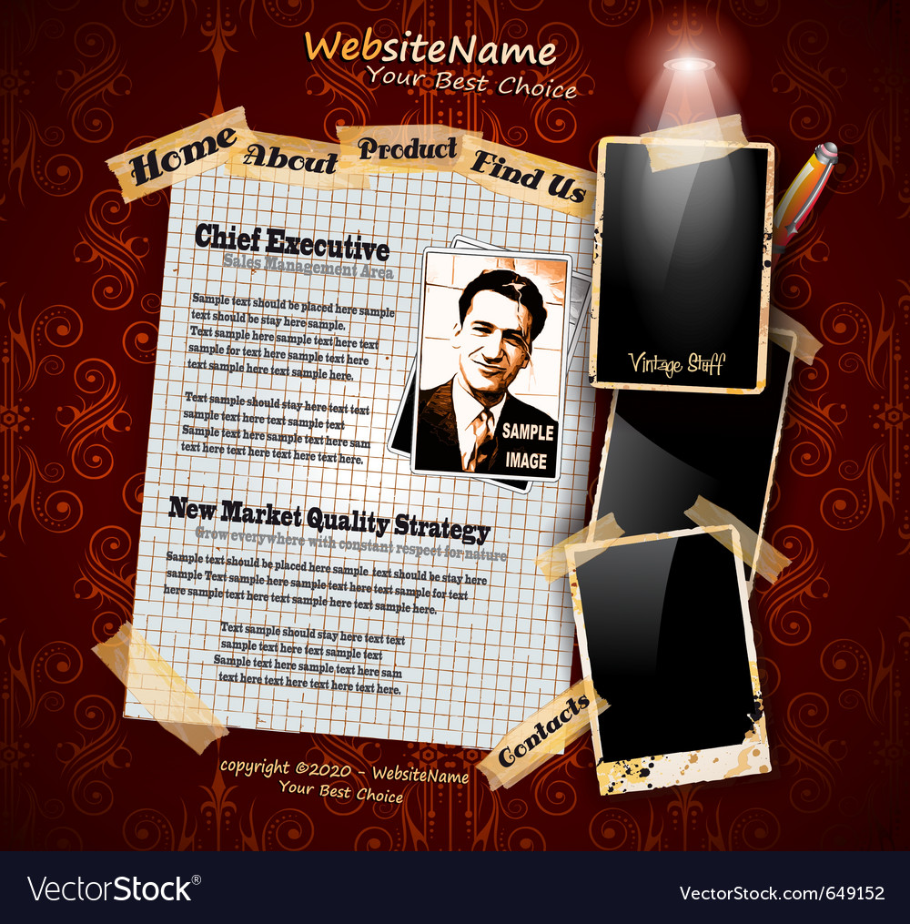 Photo book vintage vector | Price: 3 Credit (USD $3)