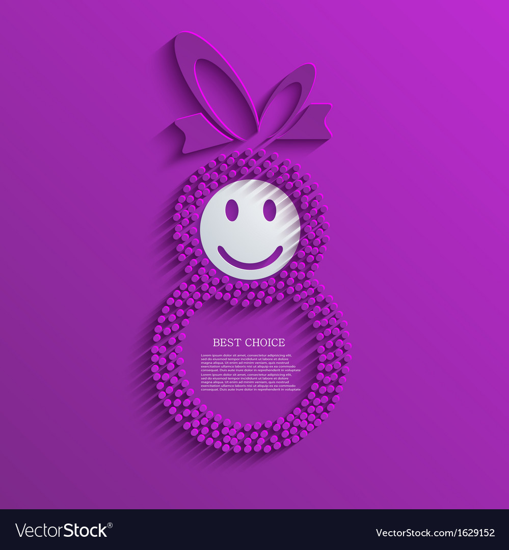 Womens day background eps10 vector | Price: 1 Credit (USD $1)