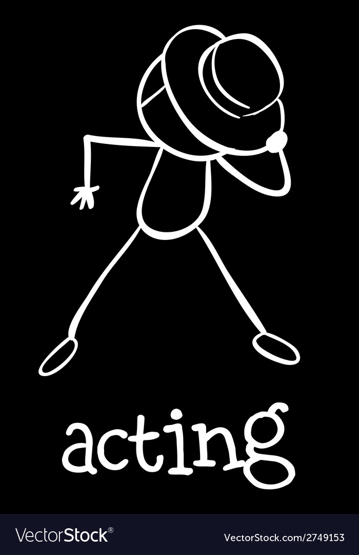 An actor vector | Price: 1 Credit (USD $1)