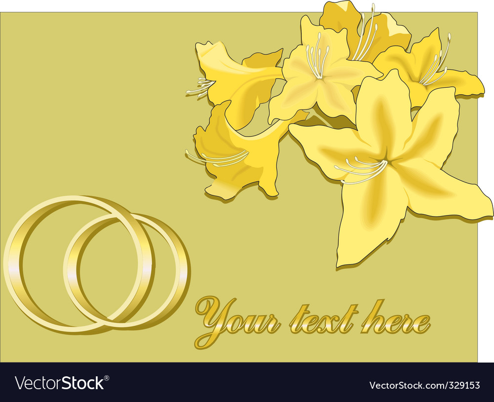 Invite marriage vector | Price: 1 Credit (USD $1)