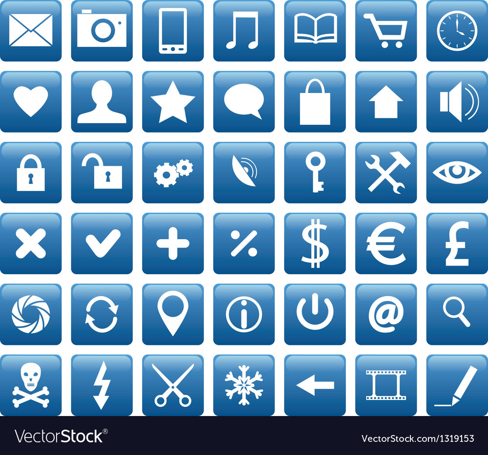Mobile icons vector | Price: 1 Credit (USD $1)