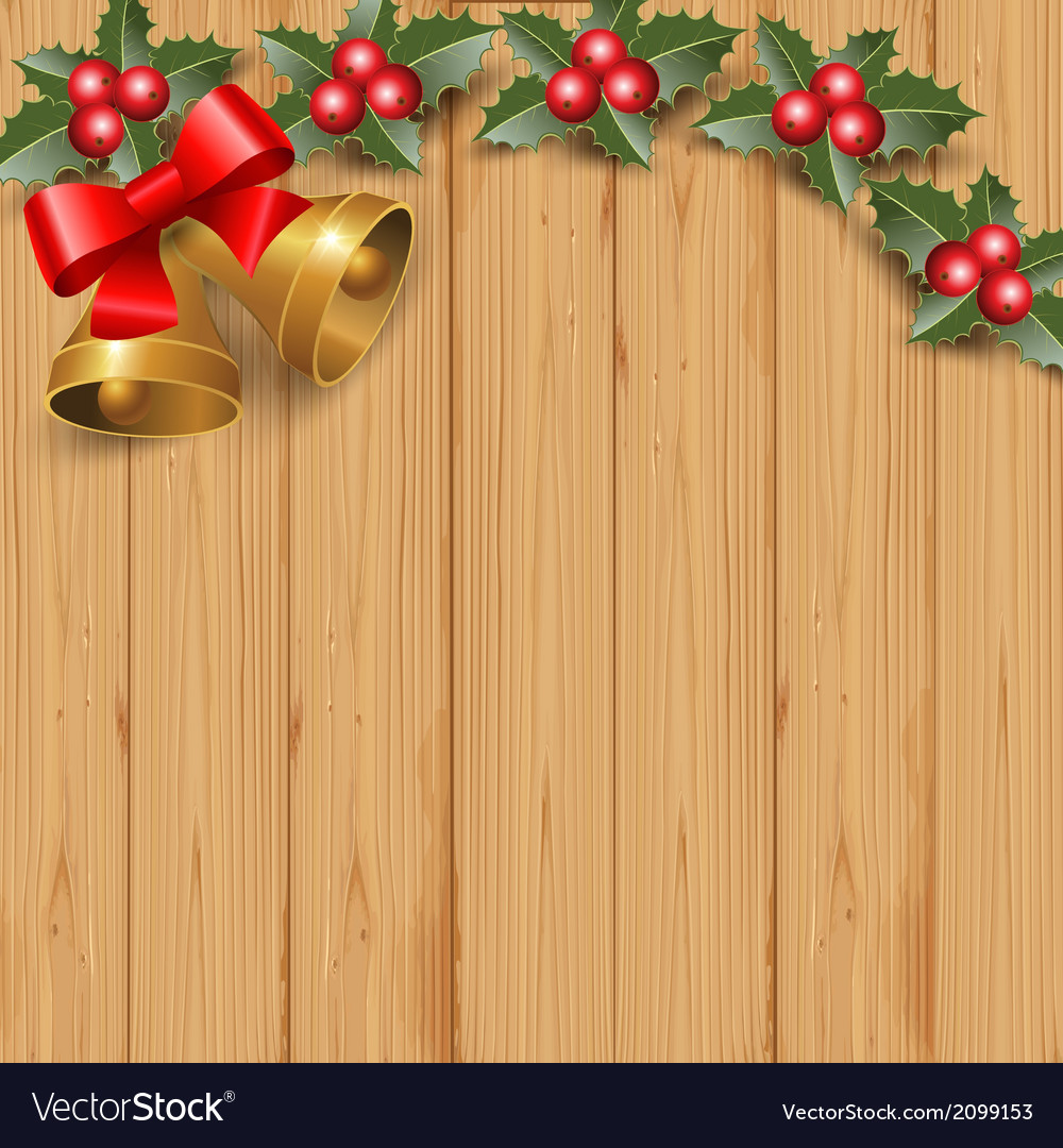 Wood and bells vector | Price: 1 Credit (USD $1)