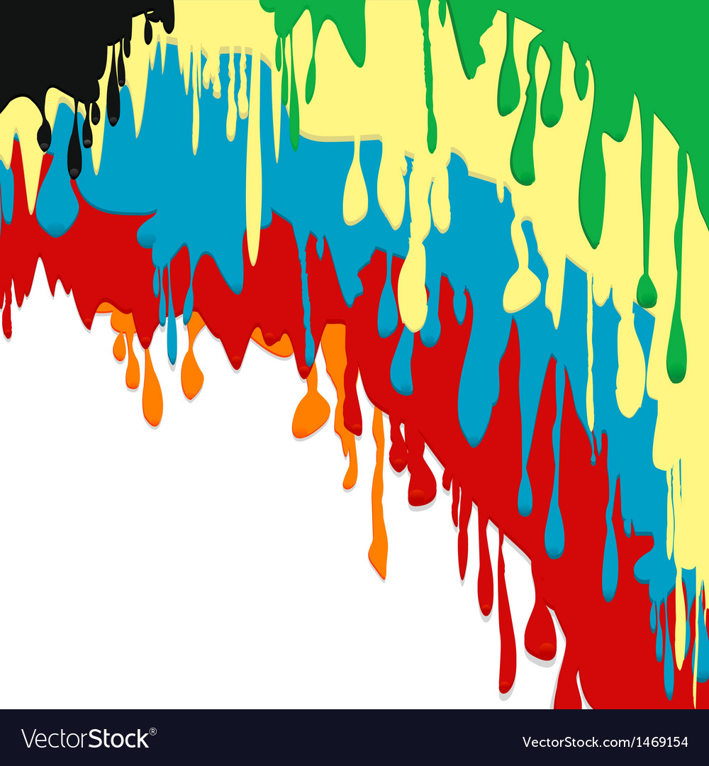 Paint dripping background vector   Price: 1 Credit (USD $1)