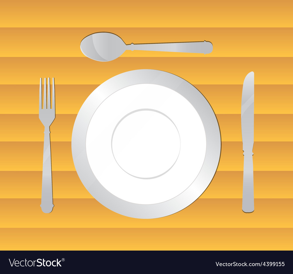 Dining table background vector | Price: 3 Credit (USD $3)