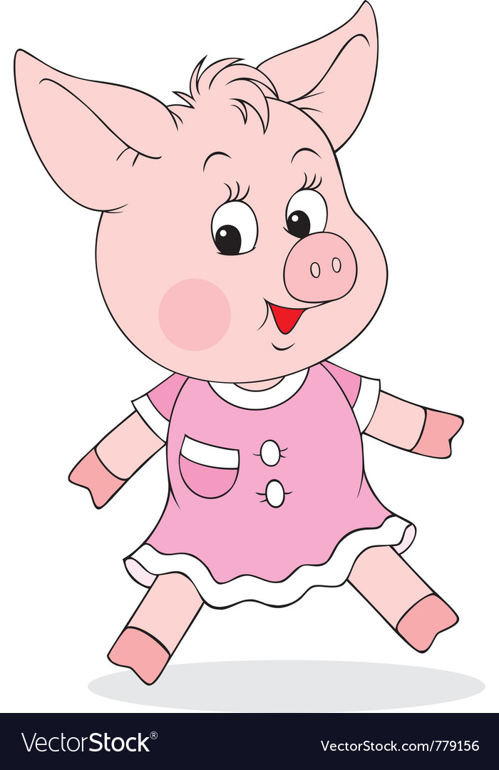 Piglet vector | Price: 1 Credit (USD $1)