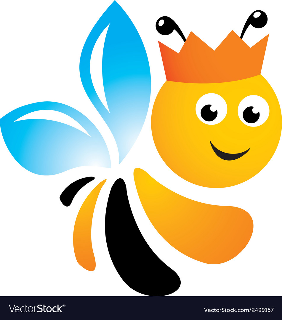 Bee logo vector | Price: 1 Credit (USD $1)