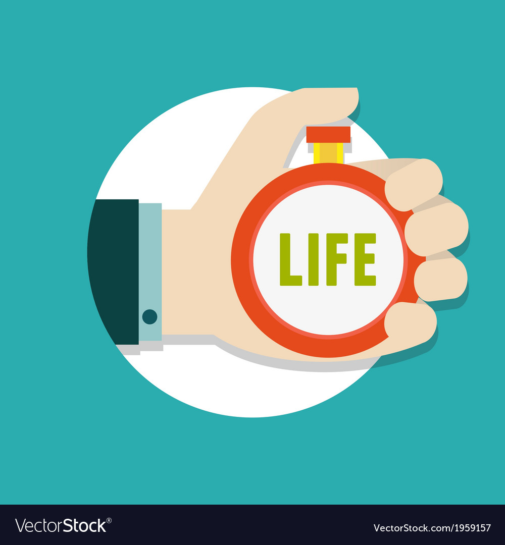 Concept of time management vector   Price: 1 Credit (USD $1)