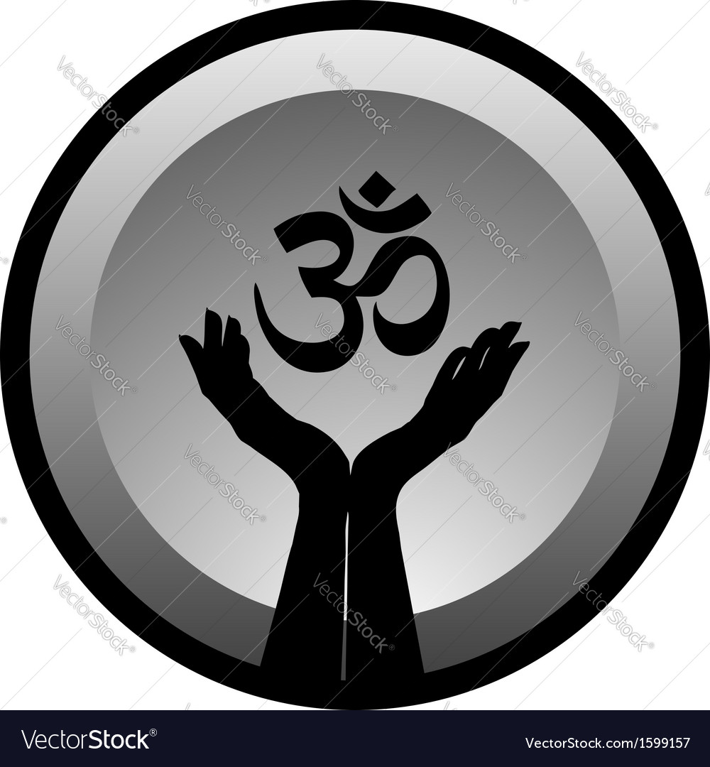 Symbol of hinduism vector | Price: 1 Credit (USD $1)