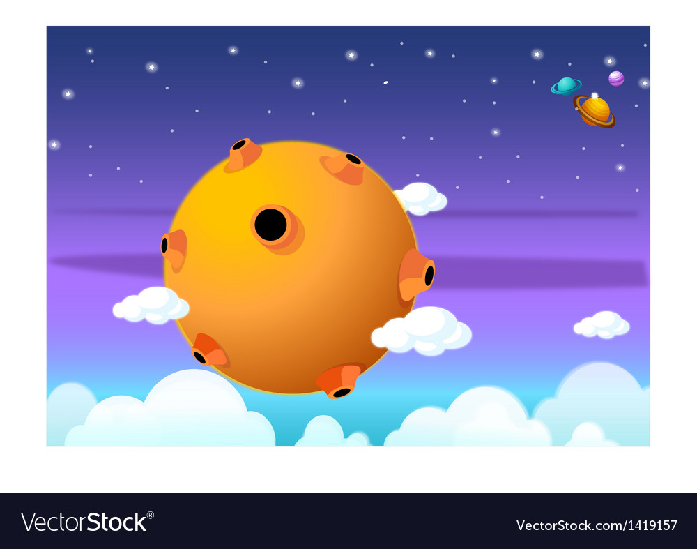 Universe vector | Price: 1 Credit (USD $1)