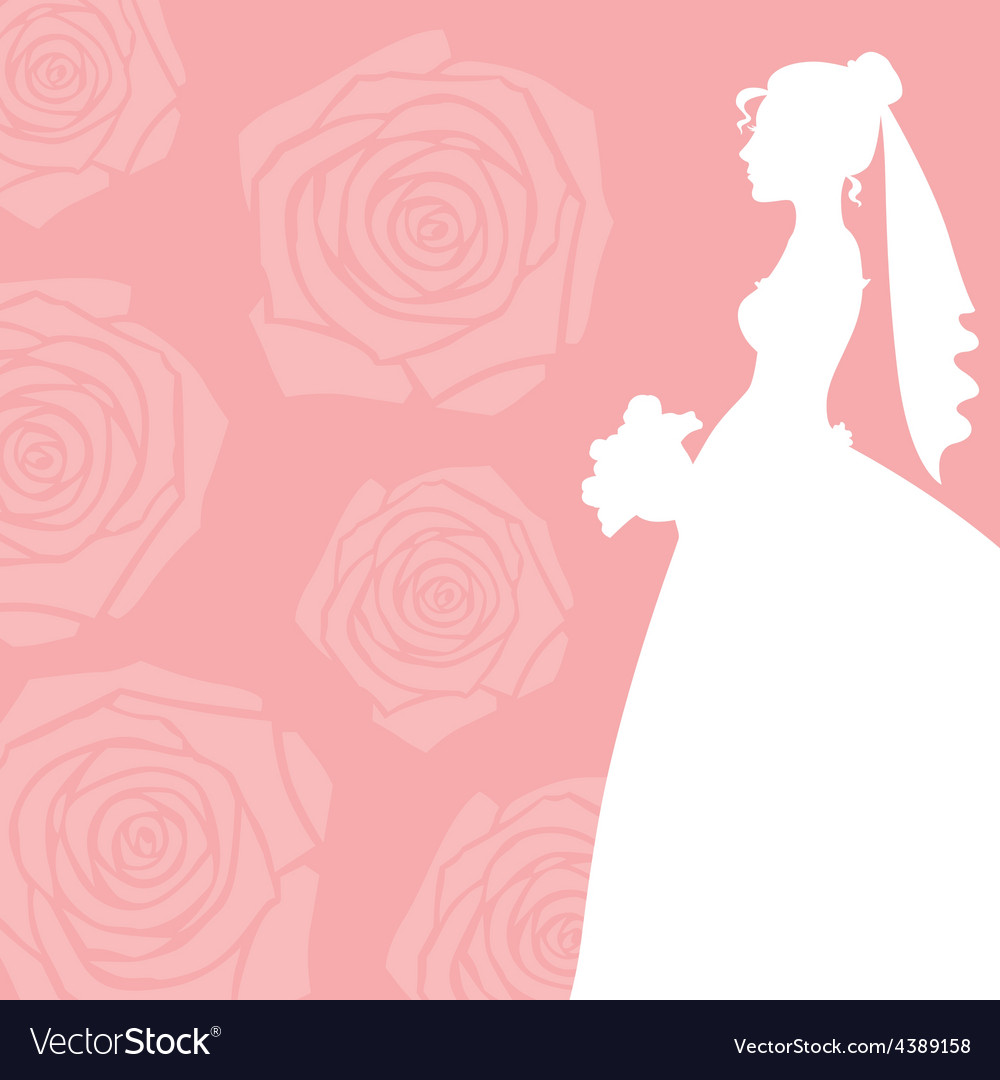 Bride invitation vector | Price: 1 Credit (USD $1)