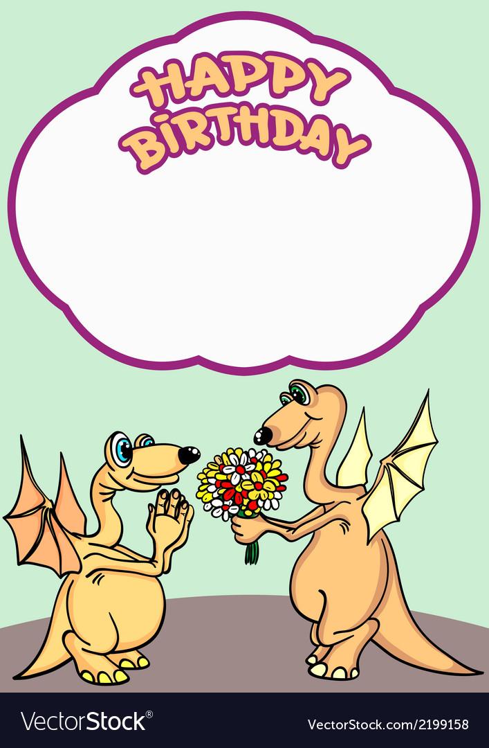 Greeting card happy birthday vector   Price: 1 Credit (USD $1)