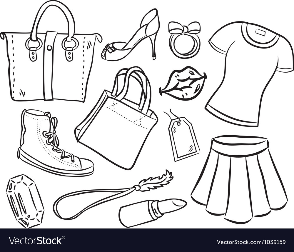 Shopping item vector | Price: 1 Credit (USD $1)