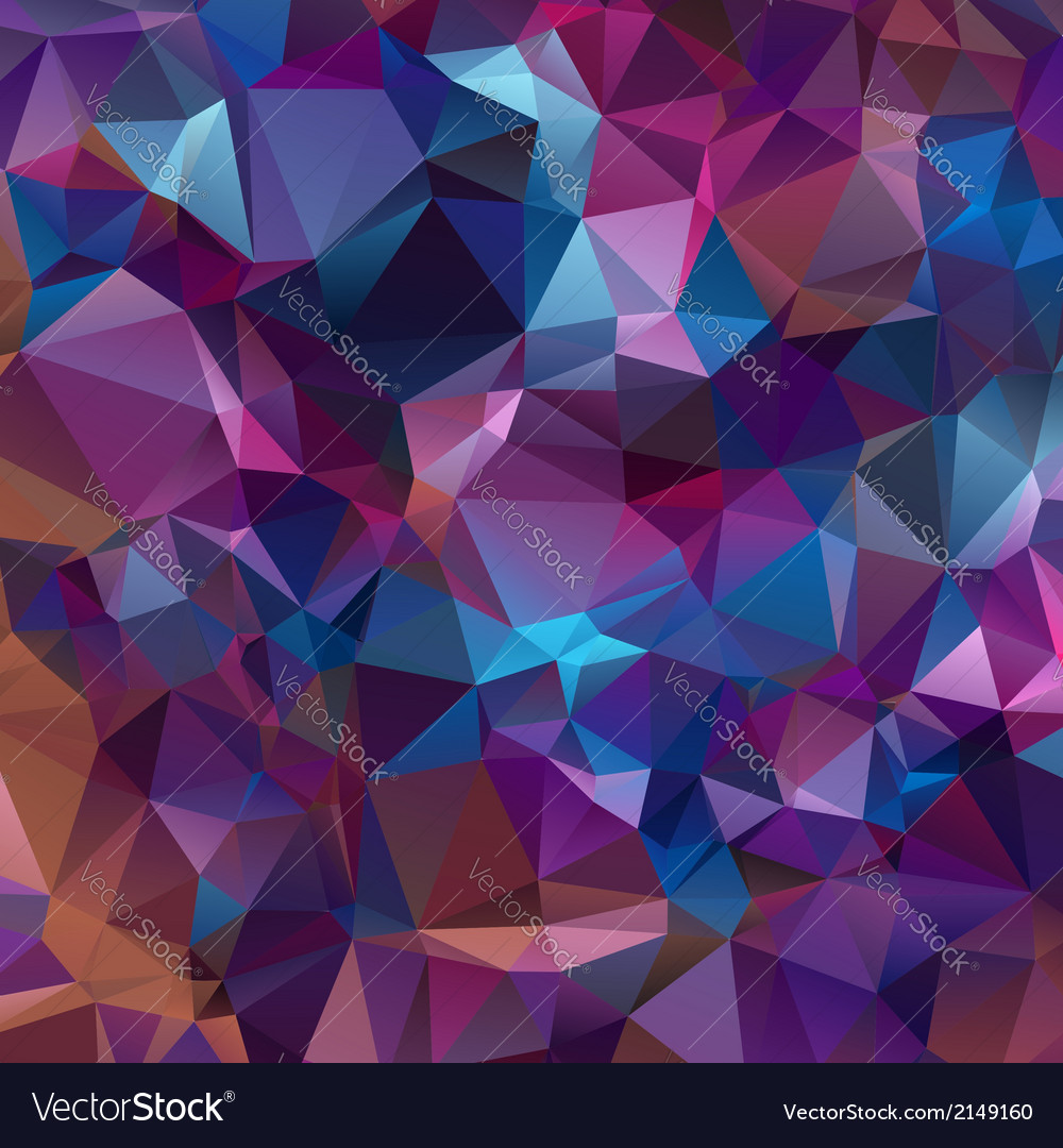 Abstract triangles background for design vector | Price: 1 Credit (USD $1)