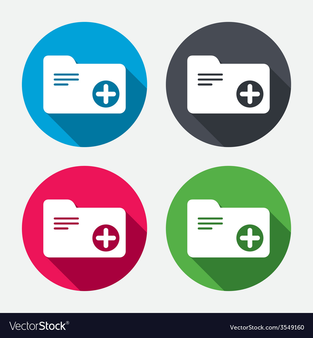 Add document folder sign accounting binder vector   Price: 1 Credit (USD $1)