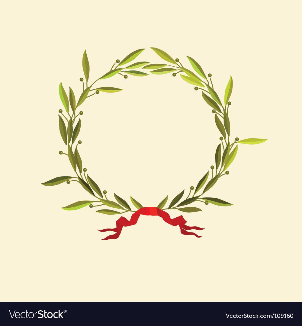 Laurel wreath vector | Price: 1 Credit (USD $1)