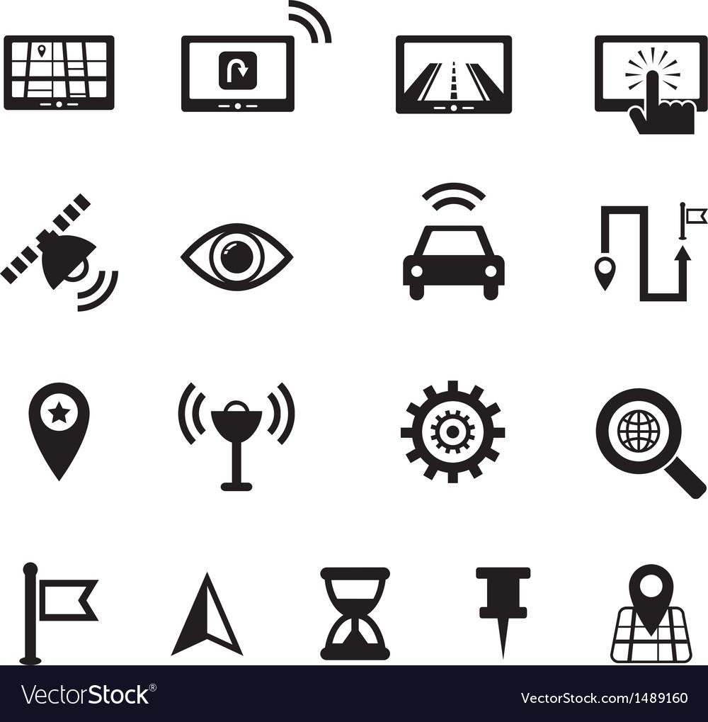 Navigation icon vector | Price: 1 Credit (USD $1)