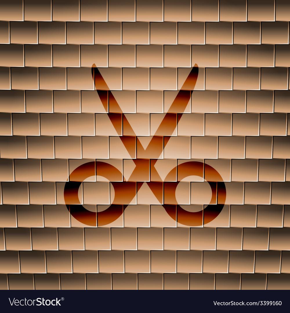 Scissors hairdresser icon symbol flat modern web vector | Price: 1 Credit (USD $1)