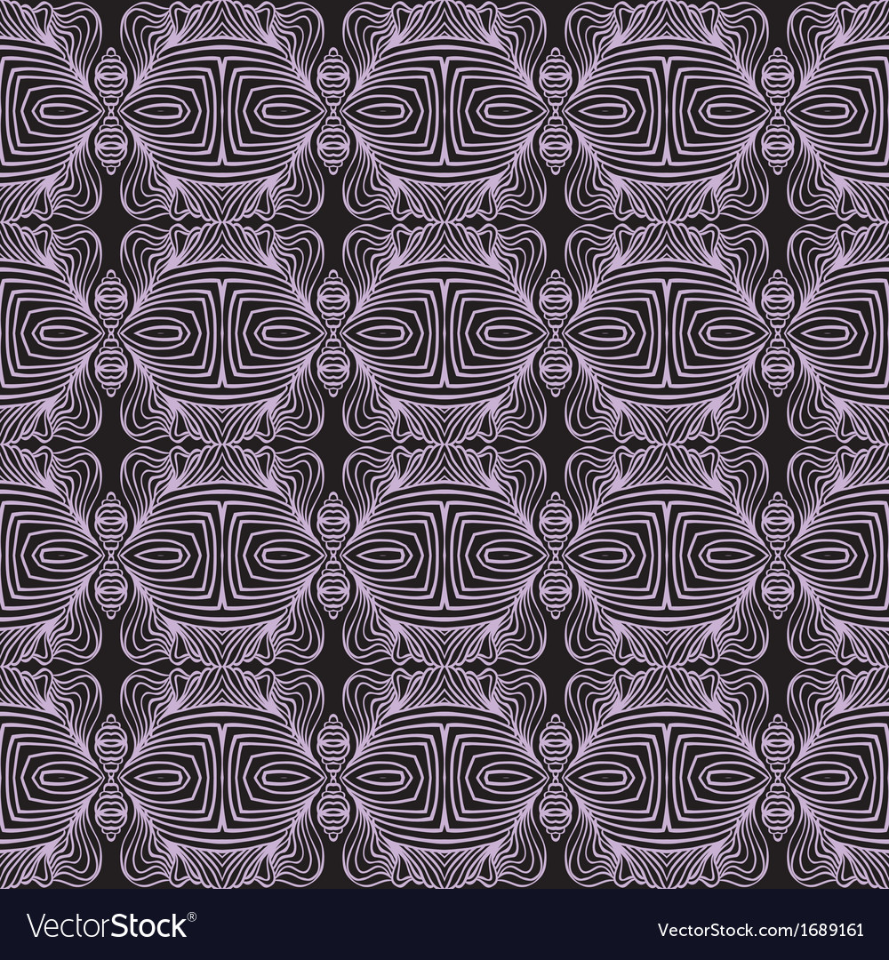 Geometric linear art deco pattern vector | Price: 1 Credit (USD $1)