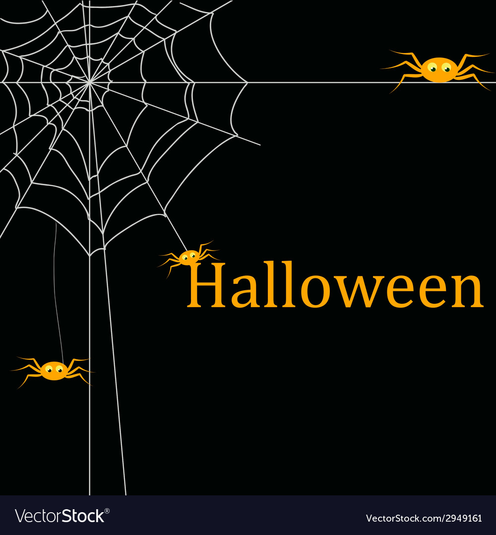 Halloween template frame vector | Price: 1 Credit (USD $1)