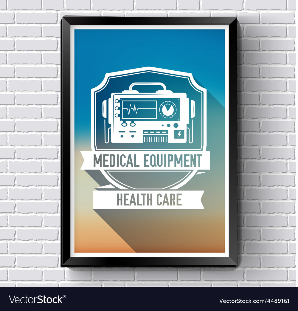 Medical logo or label template with blurred vector | Price: 1 Credit (USD $1)