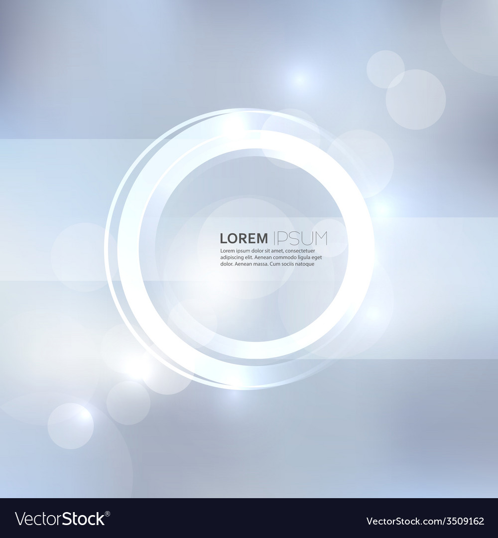 Abstract background with light and bright spots vector | Price: 1 Credit (USD $1)