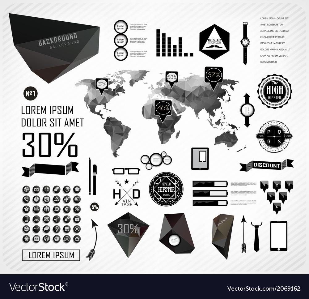 Elements of info graphics vector   Price: 1 Credit (USD $1)