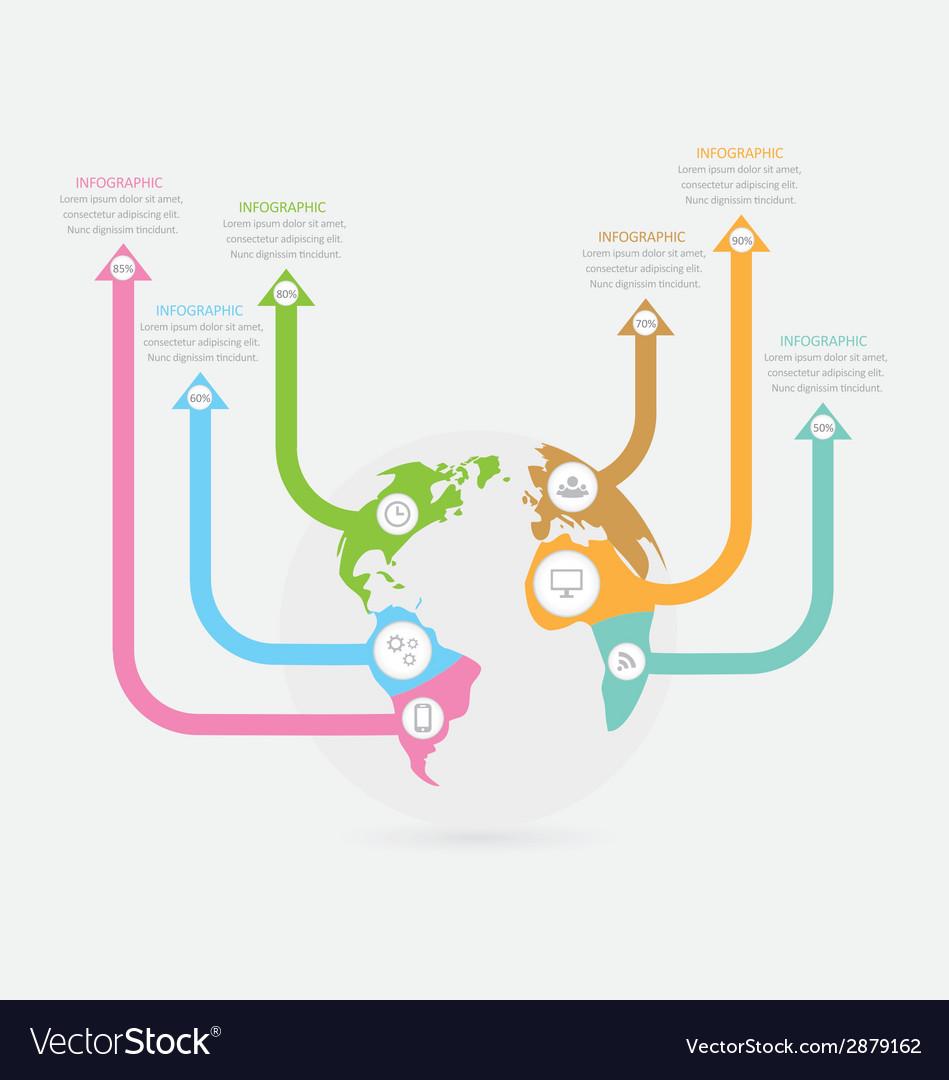 Infographic 44 vector | Price: 1 Credit (USD $1)