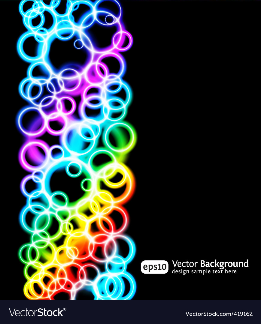 Light rings vector | Price: 1 Credit (USD $1)