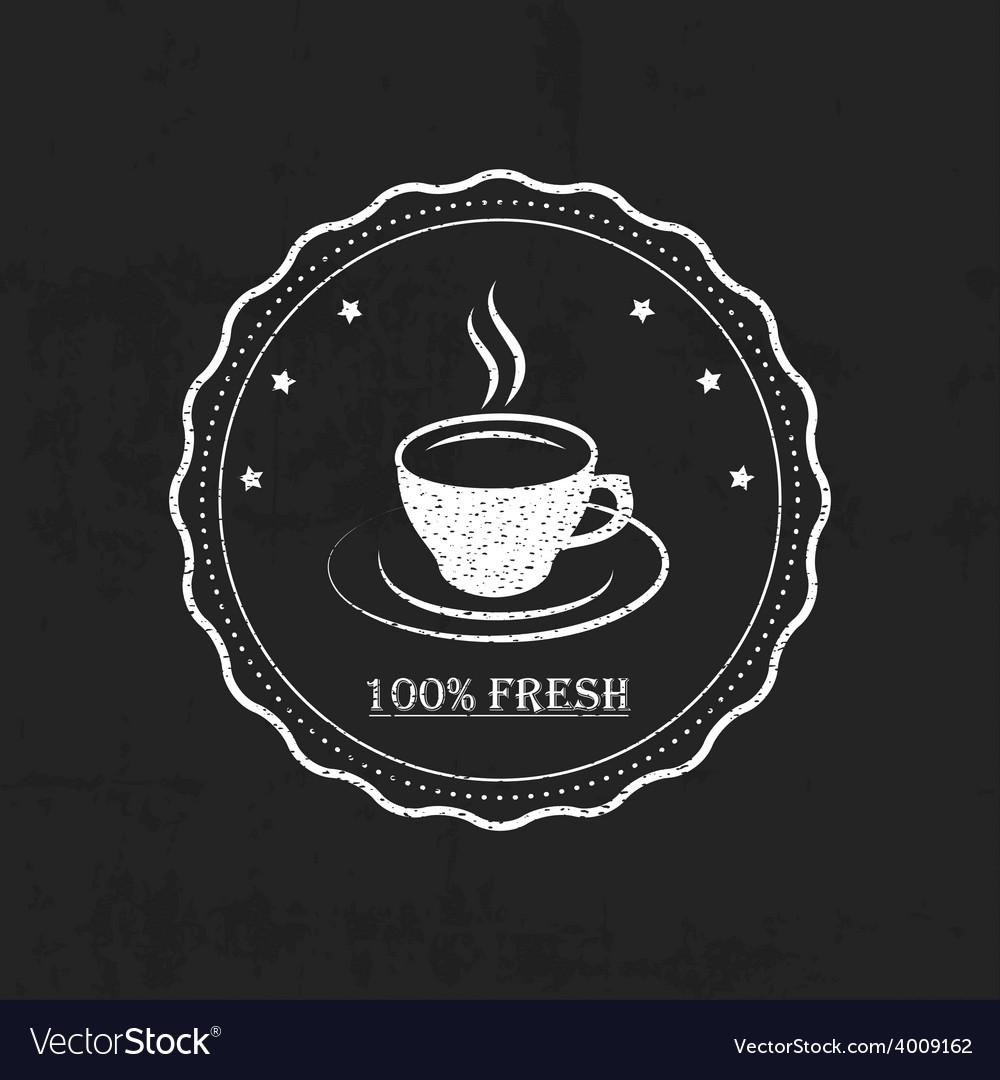 Set vintage retro coffee vector   Price: 1 Credit (USD $1)