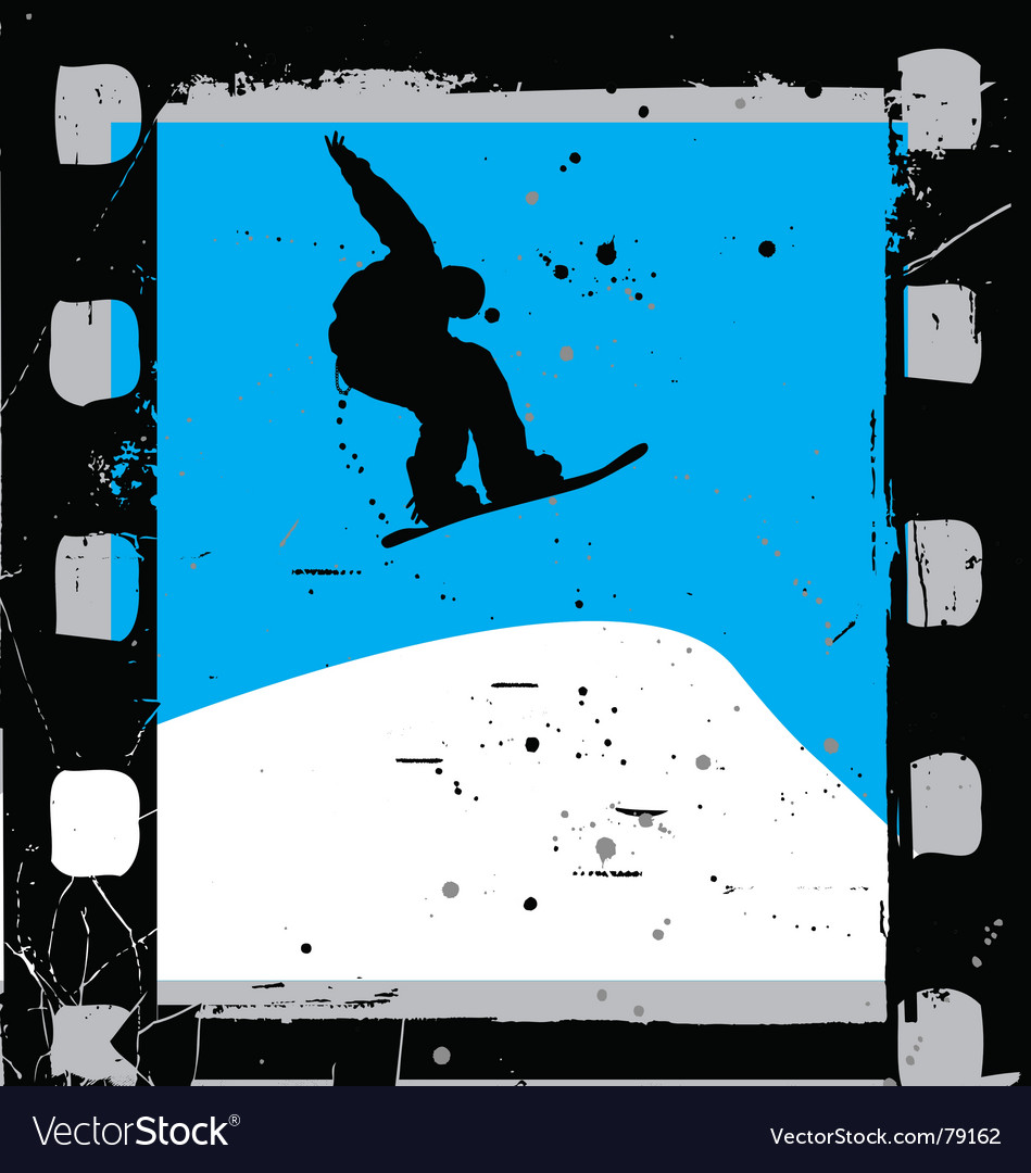 Snowboard film vector | Price: 1 Credit (USD $1)