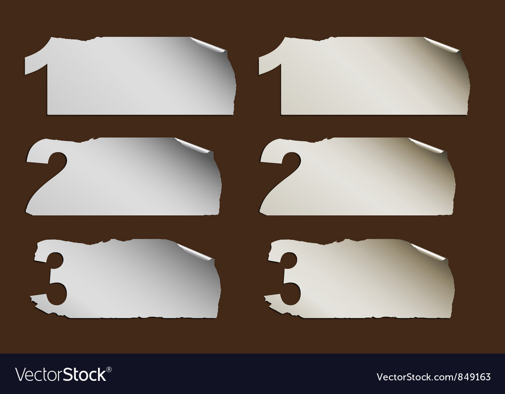 Business abstract paper progress vector | Price: 1 Credit (USD $1)