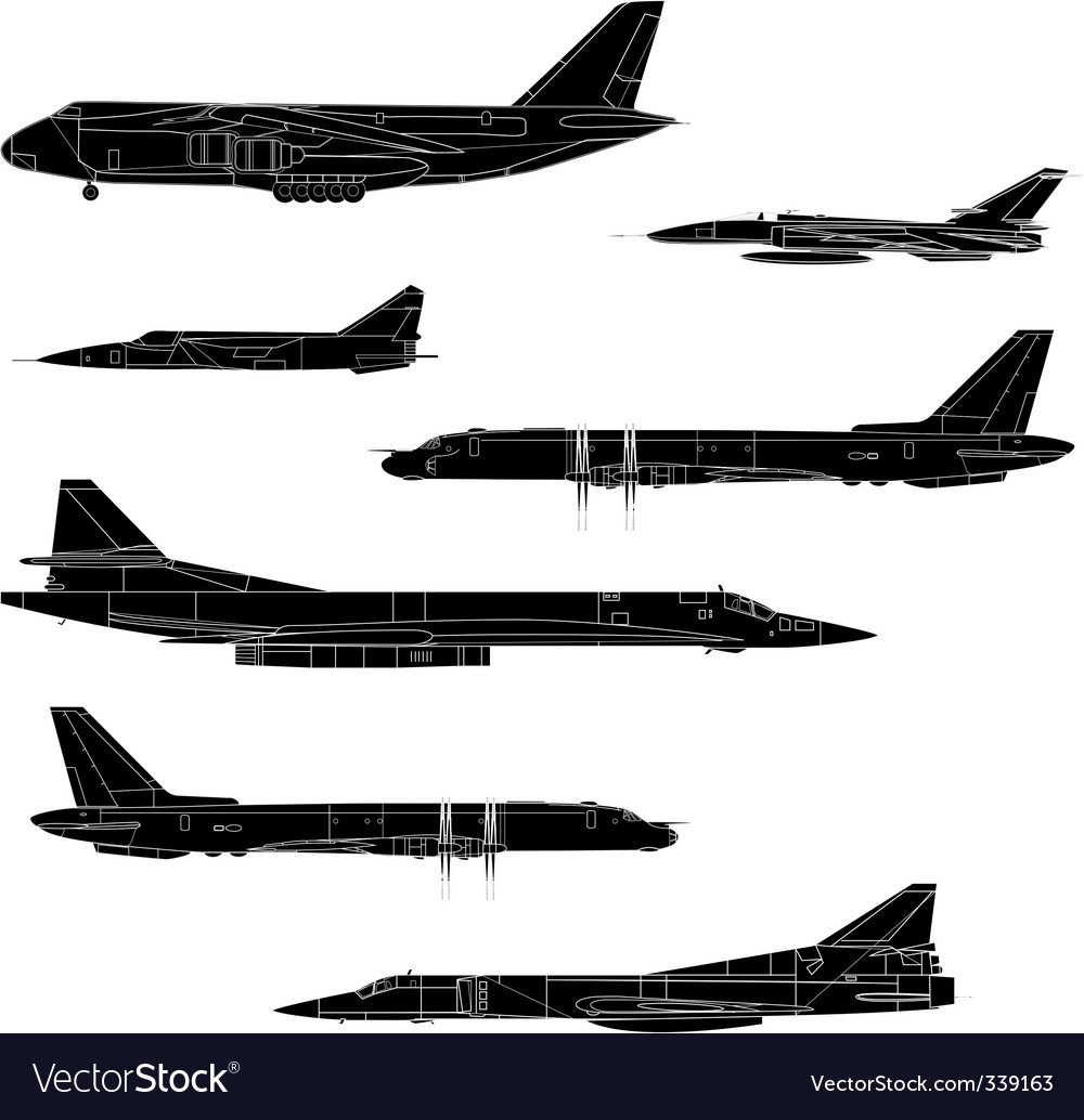 Combat aircraft vector | Price: 1 Credit (USD $1)