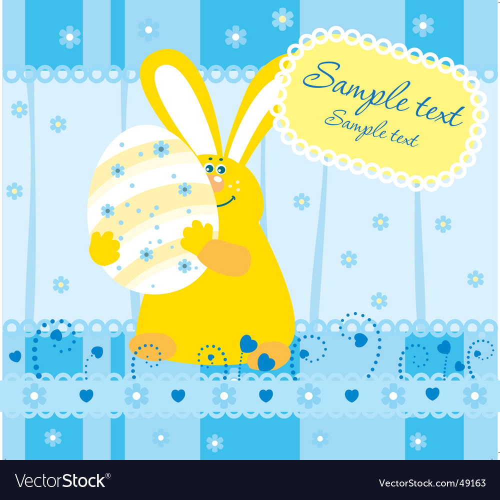 Easter illustration vector | Price: 1 Credit (USD $1)