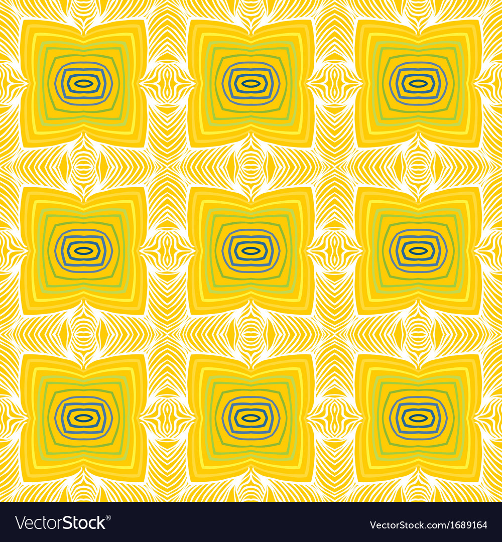 Geometric sixties wallpaper design vector | Price: 1 Credit (USD $1)