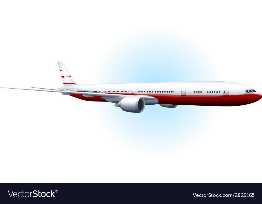 An aeroplane vector   Price: 1 Credit (USD $1)