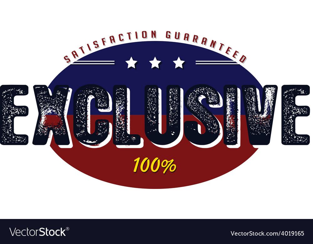 Exclusive quality badge vector | Price: 1 Credit (USD $1)