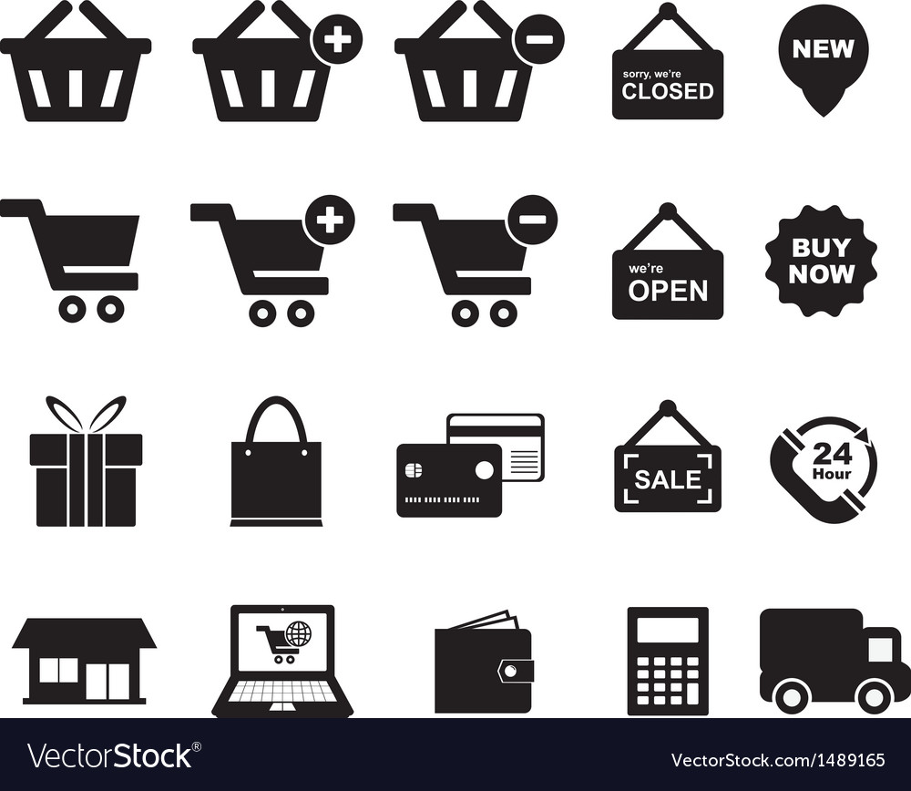 Shopingg icon vector | Price: 1 Credit (USD $1)