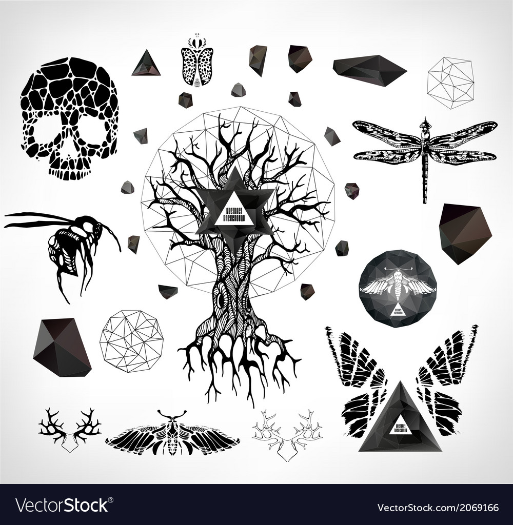 Abstract gothic vector | Price: 1 Credit (USD $1)