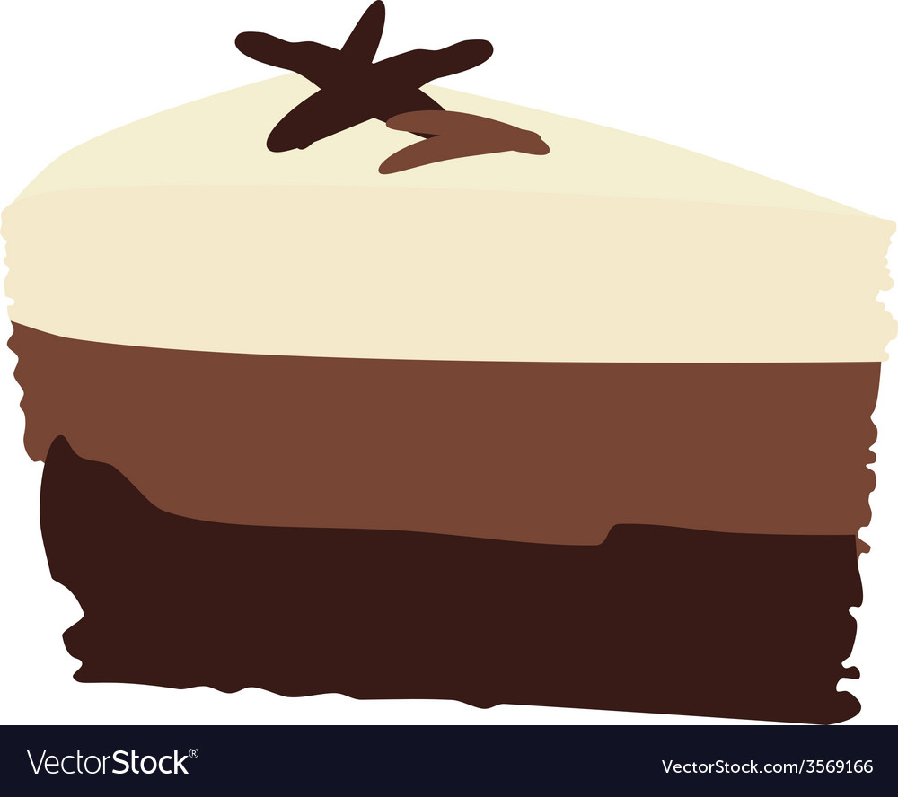 Chocolate cake vector   Price: 1 Credit (USD $1)