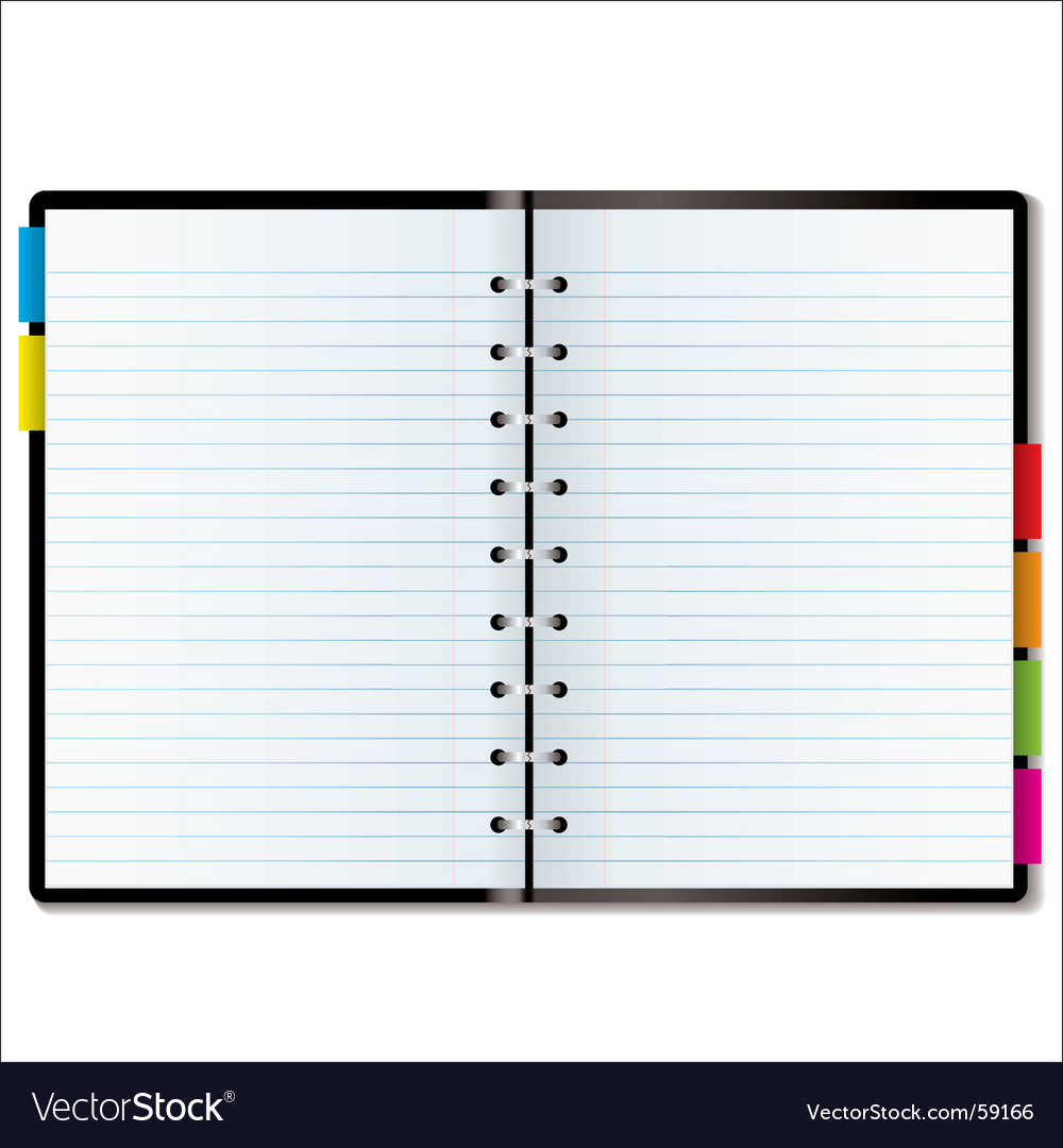 Organizer blank vector | Price: 1 Credit (USD $1)
