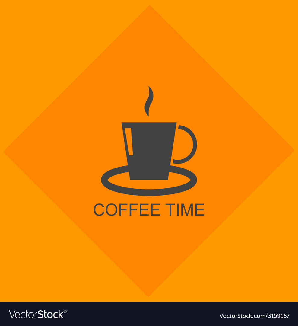 Cup of coffee icon vector | Price: 1 Credit (USD $1)