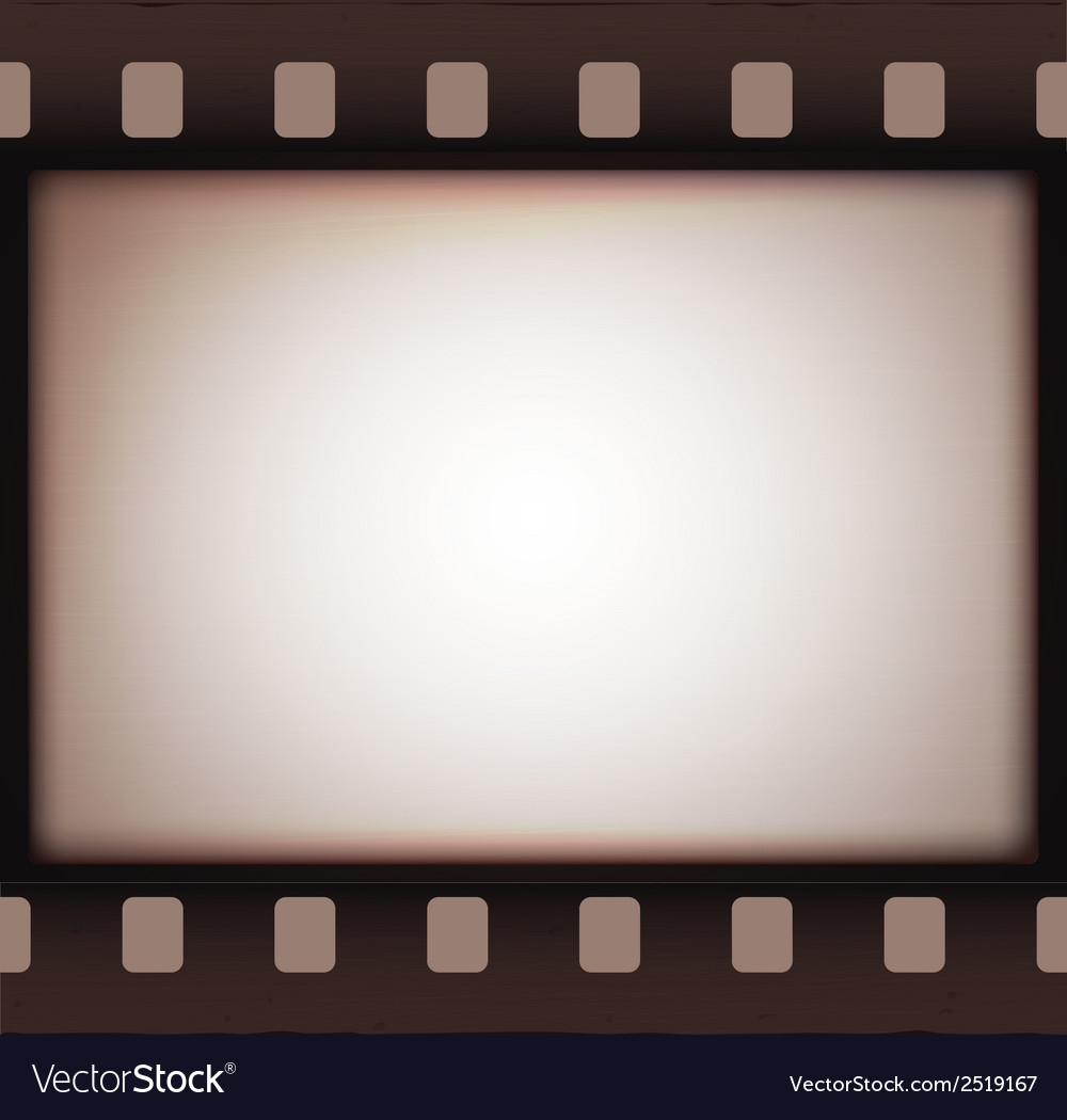 Vintage retro old film strip background vector | Price: 1 Credit (USD $1)