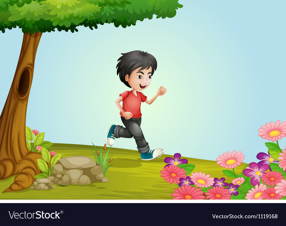 A boy vector | Price: 1 Credit (USD $1)