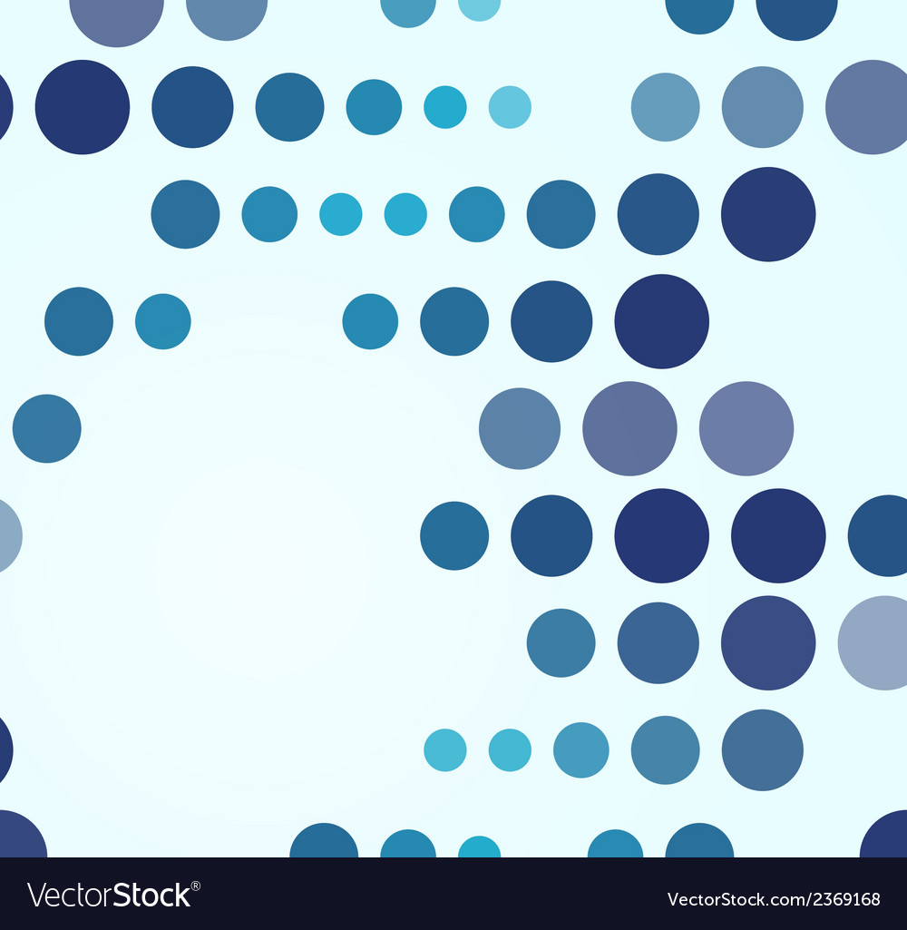 Blue geometrical abstract background vector | Price: 1 Credit (USD $1)