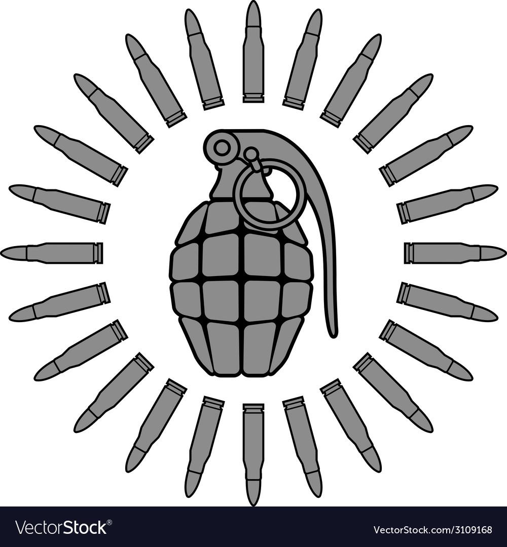 Military sun vector | Price: 1 Credit (USD $1)