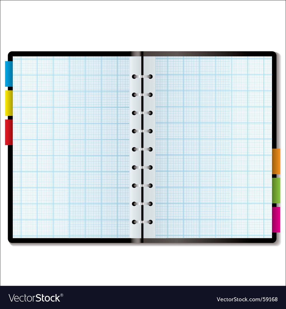 Organizer graph vector | Price: 1 Credit (USD $1)