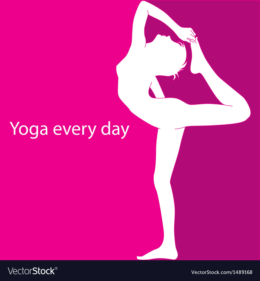 Yoga every day vector | Price: 1 Credit (USD $1)