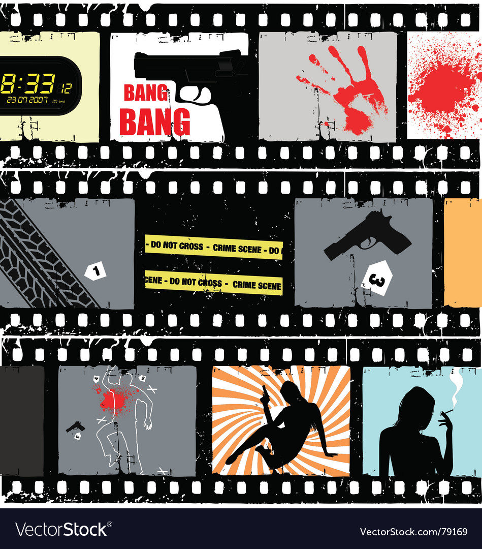 Movie scene vector | Price: 1 Credit (USD $1)